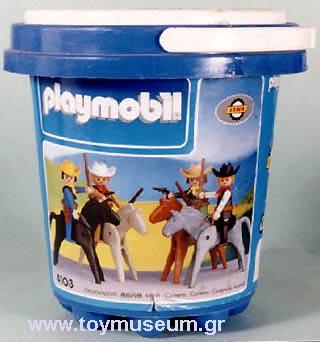 Playmobil 4103-lyr - Cowboy Set - Box