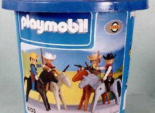 Playmobil - 4103-lyr - Cowboy Set