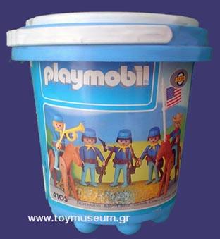 Playmobil 4105-lyr - Union Soldiers Set - Box