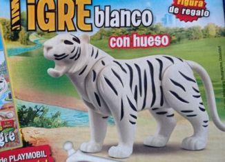 Playmobil - R055-30742620 - White tiger with a bone
