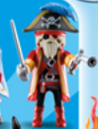 Playmobil - 70148v4 - Pirate Captain