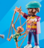 Playmobil - 70148-06 - Puppeteer