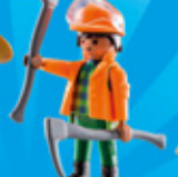 Playmobil - 70148-07 - Construction worker