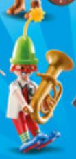 Playmobil - 70148v10 - Musician Clown