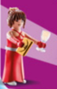Playmobil - 70149-03 - Woman in party