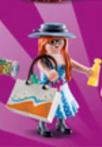 Playmobil - 70149-05 - Shopping girl