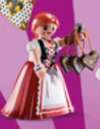 Playmobil - 70149-07 - Tyrol woman