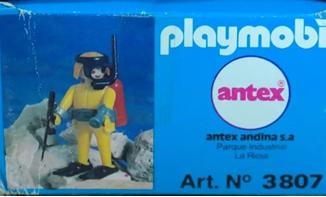 Playmobil - 3807-ant - Diver