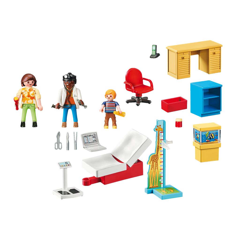 Playmobil 70034 - StarterPack Pediatrician's Office - Back