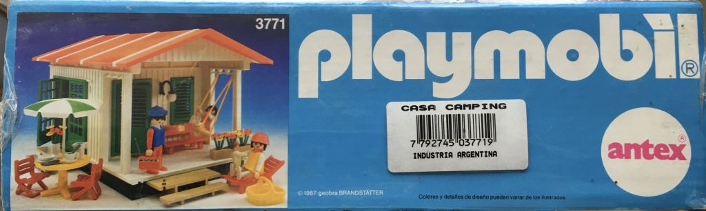 Playmobil 3771-ant - Vacation Cottage - Box