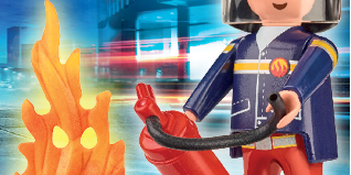 Playmobil - 30795924 - Firefighter