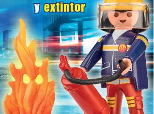 Playmobil - R057-30795924 - Firefighter