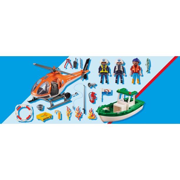 Playmobil 70491 - Coastal Fire Mission - Back