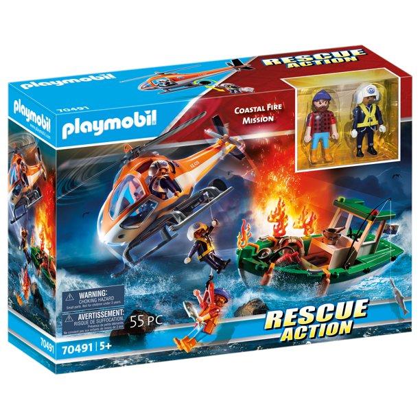 Playmobil 70491 - Coastal Fire Mission - Box