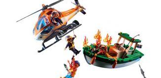 Playmobil - 70491 - Coastal Fire Mission
