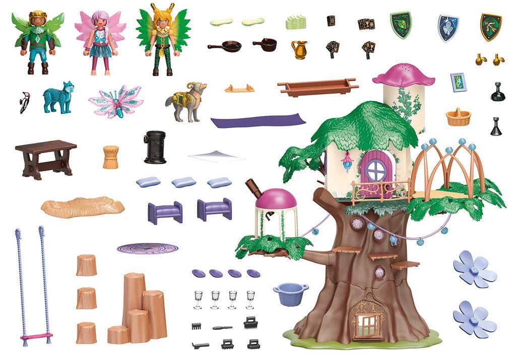 Playmobil 70799 - Adventures of Ayuma: Common tree - Back