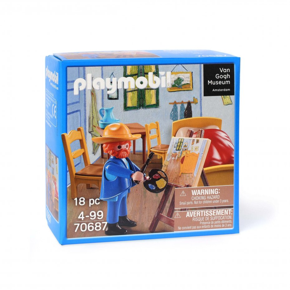 Playmobil 70687 - The Bedroom by Vincent Van Gogh - Box