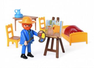 Playmobil - 70687 - The Bedroom by Vincent Van Gogh