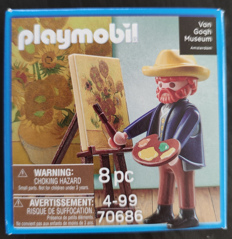 Playmobil 70686 - Sunflowers by Vincent Van Gogh - Box