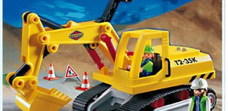 Playmobil - 3001v1 - Excavator