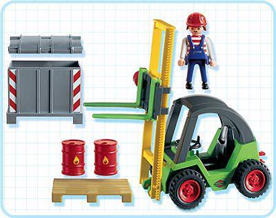Playmobil 3003 - Forklift - Back