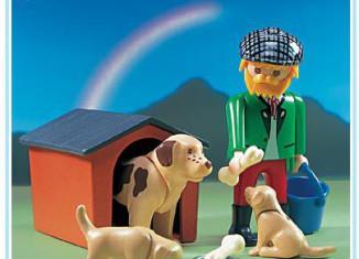 Playmobil - 3005 - Man/Dog/Puppies