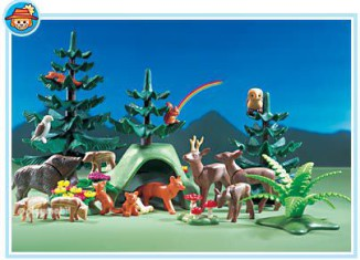Playmobil - 3006 - Forest Animals
