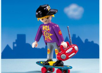 Playmobil - 3011 - Skateboarder