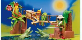 Playmobil - 3016 - Alligator Ravine