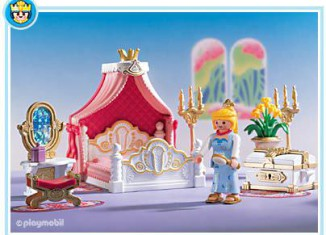 Playmobil - 3020 - Bedroom With Canopy Bed