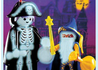 Playmobil - 3025 - Skeleton & Wizard Trick-Or-Treaters