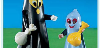 Playmobil - 3027 - Big & Little Ghost Trick-Or-Treaters