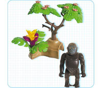 Playmobil 3039 - Gorilla - Back