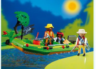 Playmobil - 3042 - Jungle River Raft
