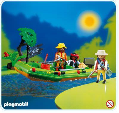 Abenteuer Playmobil 3042 Flußpiraten Playmobil