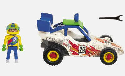 Playmobil 3043 - Off-Road Racer - Back