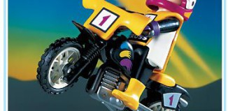Playmobil - 3044 - Moto-Cross Rider