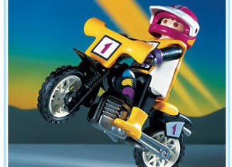 Playmobil - 3044 - Moto-Cross Rider