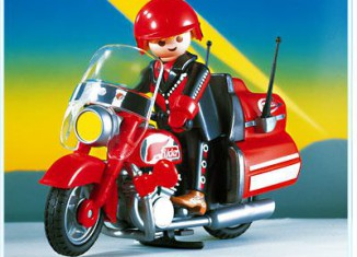 Playmobil - 3062 - Highway Motorcycle