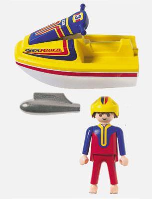 Playmobil 3065 - Jet Skier - Back