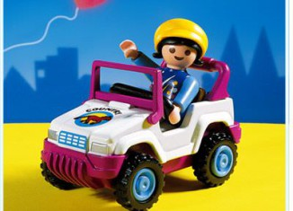 Playmobil - 3067 - Child On Tractor