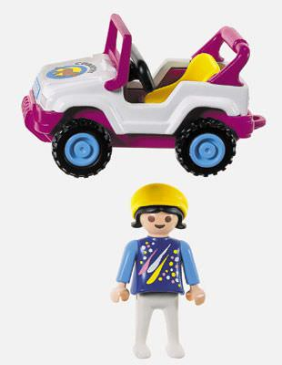 Playmobil 3067 - Child On Tractor - Back