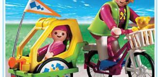 Playmobil - 3068 - Bike With Trailer