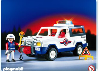 Playmobil - 3070 - Rescue Suv