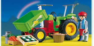 Playmobil - 3074 - Tractor With Vegetables