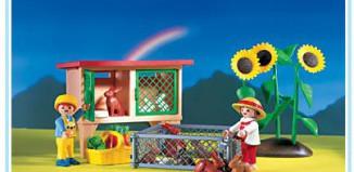Playmobil - 3075 - Rabbit Hutch