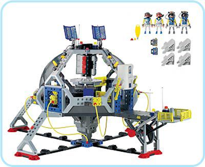 Playmobil 3079 - Space Station - Back