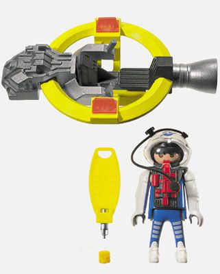 Playmobil 3083 - Hovercraft - Back