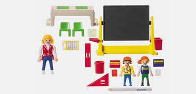 Playmobil 3084 - Classroom - Back