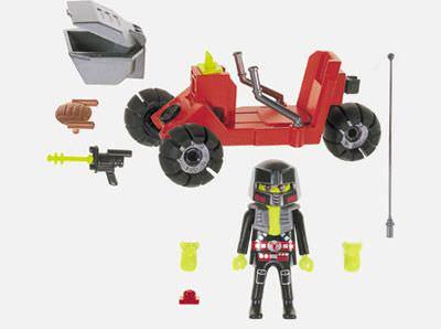 Playmobil 3094 - Moon Rover - Back
